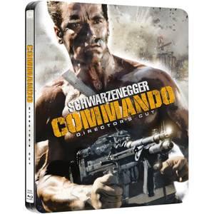 Commando: Director's Cut - Zavvi Exclusive Limited Edition Steelbook (Limited to 2000 Copies)