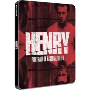 Henry, portrait d'un serial killer- Steelbook Édition Exclusive Limitée à Zavvi (Seulement 2000)