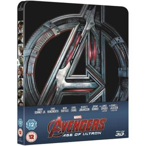 Avengers: Age of Ultron 3D (Includes 2D Version) - Zavvi Exclusive Limited Edition Steelbook