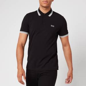 BOSS Men's Paddy Tipped Polo Shirt - Black