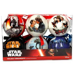 Star Wars Set of 12 Christmas Scene Ornaments