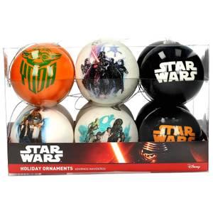 Star Wars Set of 12 Christmas Movie Ornaments