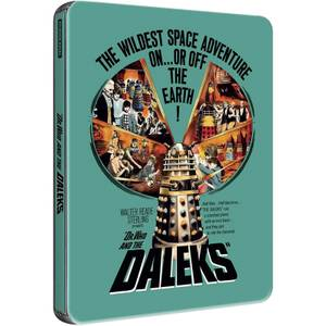 Dr Who and the Daleks - Zavvi UK Exclusive Limited Edition Steelbook