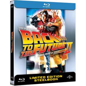 Back to The Future 2  - Zavvi UK Exclusive Limited Anniversary Edition Steelbook