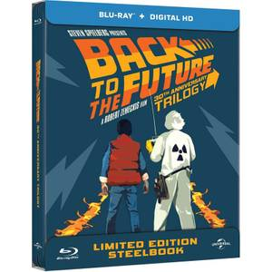 Back to The Future Trilogy - Zavvi UK Exclusive Limited Edition Steelbook Boxset (Limited to 1000)