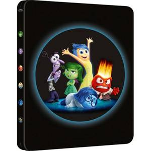 Inside Out 3D (Includes 2D Version + EXCLUSIVE BONUS DISC!) - Zavvi Exclusive Limited Edition Steelbook Blu-ray