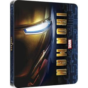 Iron Man - Steelbook lenticulaire d'édition limitée exclusive Zavvi (Édition UK)
