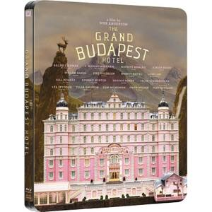 Grand Budapest Hotel - Steelbook d'édition limitée exclusivement sur Zavvi (limitée aux 2000) Blu-ray