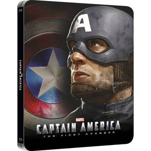 Captain America: The First Avenger 3D (Includes 2D Version) - Zavvi UK Exclusive Lenticular Edition Steelbook