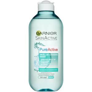 Água Micellar de Limpeza Pure Micellar da Garnier (400 ml)