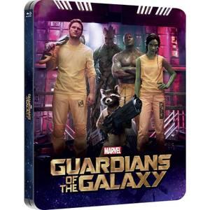 Les Gardiens de la Galaxie 3D (avec version 2D) - Steelbook lenticulaire d'édition limité exclusif à Zavvi