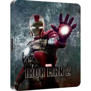 Iron Man 2 - Steelbook lenticulaire d'édition limitée exclusive Zavvi (Édition UK)