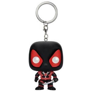 Marvel Deadpool Black Suit Pocket Funko Pop! Keychain