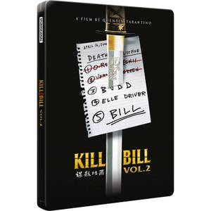 Kill Bill : Volume 2 - Steelbook d'édition limitée exclusive Zavvi