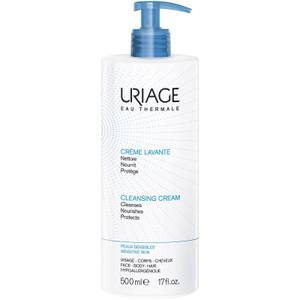 Uriage Crème Lavante Soap Free Cleansing Cream 500ml