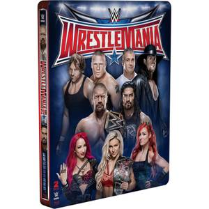 WWE: Wrestlemania 32 - Limited Edition Steelbook (UK EDITION)