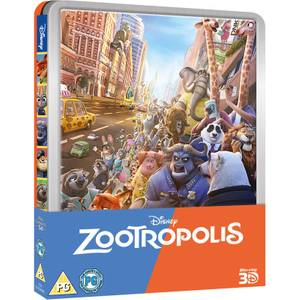 Zootropolis - Limited Edition Steelbook (UK EDITION)