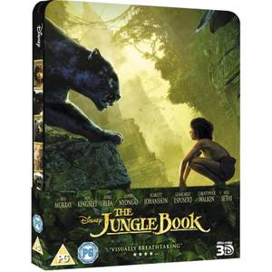 The Jungle Book 3D (Includes 2D Version) - Zavvi UK Exclusive Limited Edition Steelbook