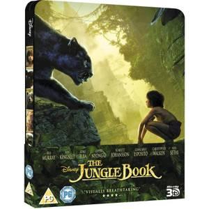 Le Livre de la jungle 3D (avec version 2D) - Steelbook d'édition limitée exclusive Zavvi (Édition UK)