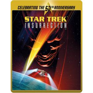 Star Trek 9 - Insurrection (Limited Edition 50th Anniversary Steelbook) (UK EDITION)