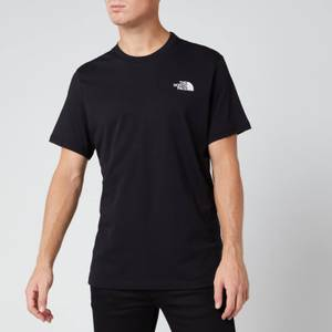 The North Face Men's Short Sleeve Simple Dome T-Shirt - TNF Black