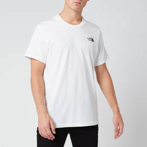 The North Face Simple Dome T-Shirt für Herren - Weiß