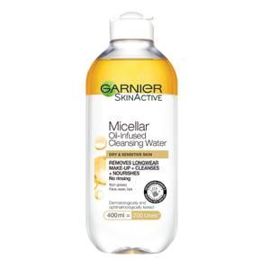 Agua micelar en aceite de Garnier (400 ml)