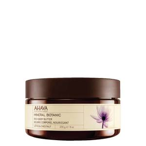 AHAVA Mineral Botanic Rich Body Butter - Lotus and Chestnut