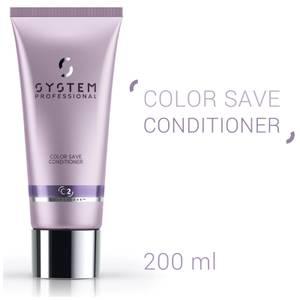 System Professional Color Save Conditioner - balsamo per la protezione della luminosità 200 ml