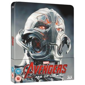 Avengers: Age Of Ultron 3D (Includes 2D Version) - Zavvi UK Exclusive Lenticular Edition Steelbook