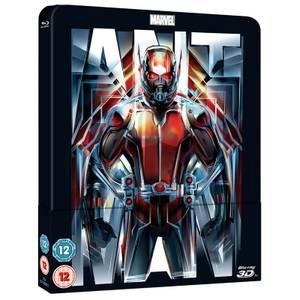 Ant-Man 3D (Avec version 2D) - Steelbook lenticulaire d'édition limitée exclusive Zavvi (Édition UK)