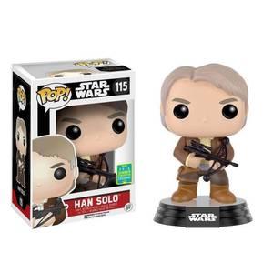 Star Wars Han Solo Chewie Bowcaster Bobble-head Pop! Vinyl Figur SDCC 2016 Exclusive