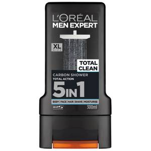 Gel de ducha Total Clean de L'Oréal Paris Men Expert 300 ml