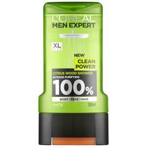 L'Oréal Paris Men Expert Clean Power żel pod prysznic 300 ml