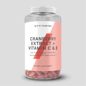 Myprotein Cranberry 500mg + Vitamin C & E Softgels