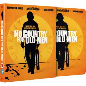 No Country for Old Men - Zavvi Exclusive Limited Edition Slipcase Steelbook (Limited to 2000 Copies)