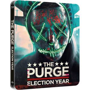 The Purge: Election Year – Zavvi UK Exclusive Limited Edition Steelbook (Limited to 2000 Copies)