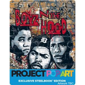 BOYZ N' THE HOOD (POP ART STEELBOOK) - Zavvi Exclusive Limited Edition Steelbook (Limited to 500 Units)