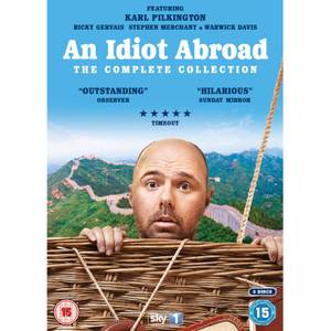 An Idiot Abroad Complete Collection