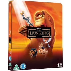 Le Roi Lion 3D (+ 2D) - Steelbook Lenticulaire Exclusivité Zavvi (Disney #32) (Édition UK)