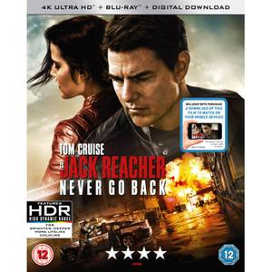 Jack Reacher: Never Go Back - 4K Ultra HD (Includes Digital Download)