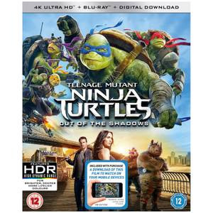 Teenage Mutant Ninja Turtles: Out Of The Shadows - 4K Ultra HD