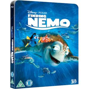 Finding Nemo 3D (Includes 2D Version) - Zavvi UK Exclusive Lenticular Edition Steelbook