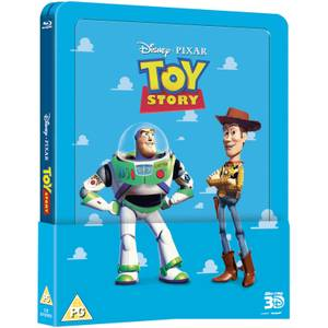 Toy Story 1 3D (Includes 2D Version) - Zavvi UK Exclusive Lenticular Edition Steelbook
