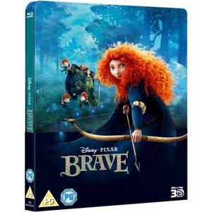 Brave 3D (Includes 2D Version) - Zavvi UK Exclusive Lenticular Edition Steelbook