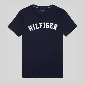 Tommy Hilfiger Men's Crew Neck Logo T-Shirt - Navy Blazer