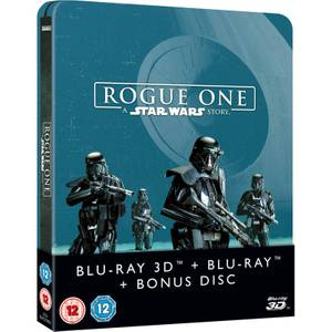 Rogue One: A Star Wars Story 3D (Includes 2D Version) Zavvi UK Exclusive Limited Edition Steelbook