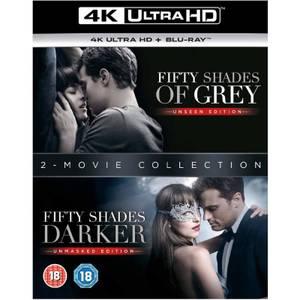 Cinquante nuances plus sombres + Cinquante nuances de Grey - 4K Ultra HD - Pack double (téléchargement numérique inclus)