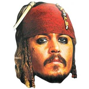 Disney Pirates of the Caribbean Captain Jack Sparrow Mask