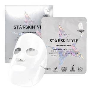 STARSKIN The Diamond Mask™ VIP Illuminating Coconut Bio-Cellulose Second Skin Face Mask